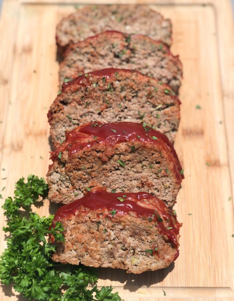 Keto Meatloaf Classic Southern Style Curbing Carbs
