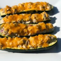 Keto Zucchini Tuna Melt