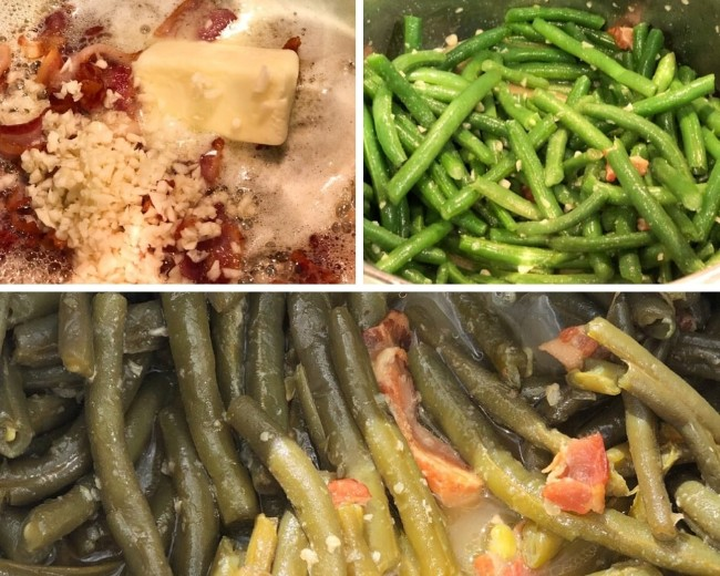 southern style green beans process