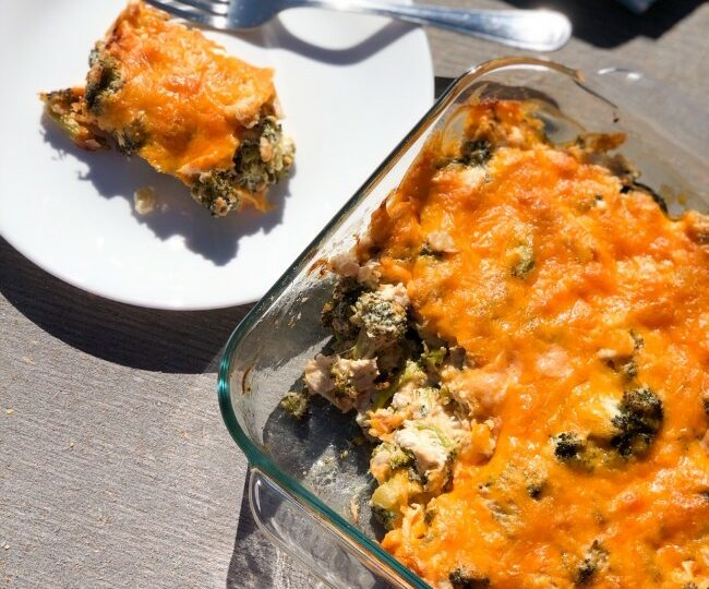 broccoli cheese casserole with chicken