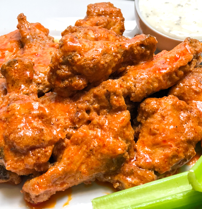 air fryer buffalo wings