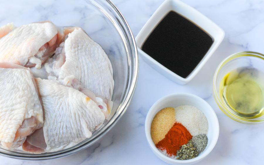 chicken thighs ingredients
