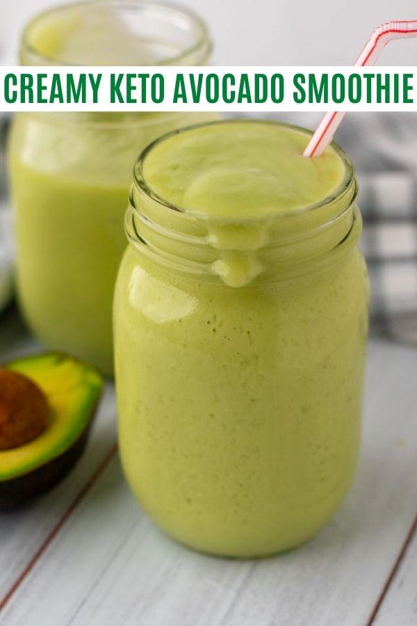 keto avocado smoothie